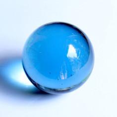 Glaskugel hellblau