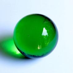 Glaskugel grün