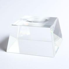 Kugelhalter Glas konisch