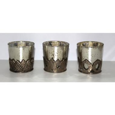 Teelichthalter Metall
