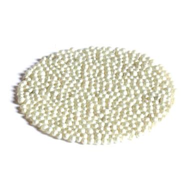 Glasperlen Metallic 3-3,5 mm Perlmutt