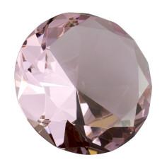 Glasdiamant rosa B