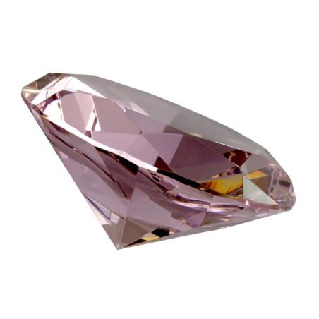 Glasdiamant 100mm rosa B