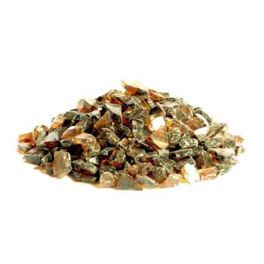 Glaskies 5-10mm amber