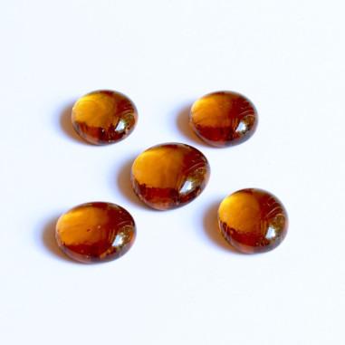 Glasnuggets amber 20mm