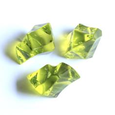 Acrylsteine olivegrün 16 - 24 mm