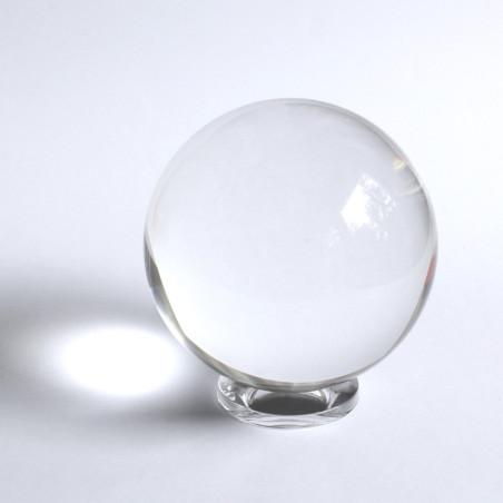 Kugelhalter Kristallglas rund