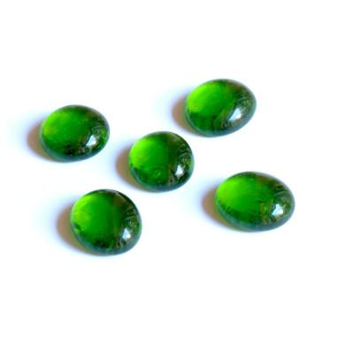 Glasnuggets grün 20mm