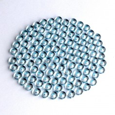 Acryltautropfen hellblau 5 mm