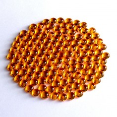 Acryltautropfen orange 5 mm