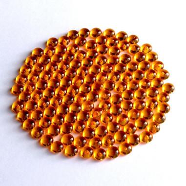 Acryltautropfen orange 5 mm