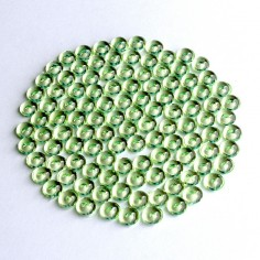 Acryltautropfen grün 5 mm