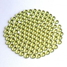 Acryltautropfen gelb 5 mm