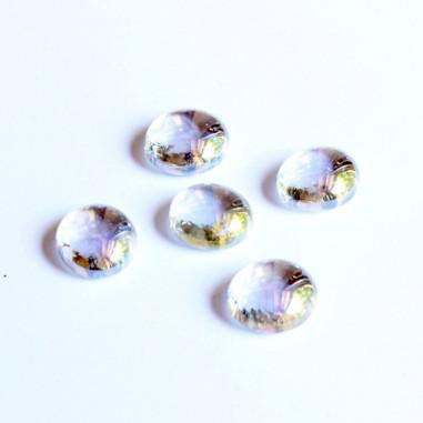 Glasnuggets klar irisierend 20mm
