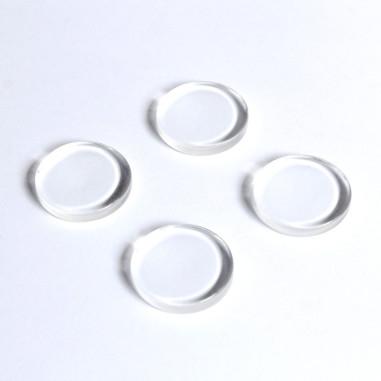 Cabochon flach Kristallglas 25mm