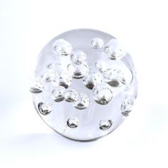 Briefbeschwerer Glas Luftblasen