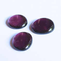 Glasnuggets amethyst 30mm