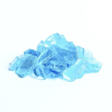 Glaskies 10-25mm azurblau