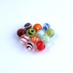 Spiralen Glasmurmeln 16mm