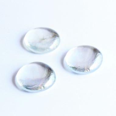 Glasnuggets klar irisierend 30mm