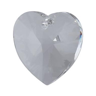 Facettierte Glaskristalle Swarovski Herz