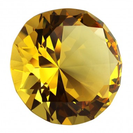 Glasdiamant gelb B