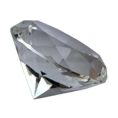 Glasdiamant klar B