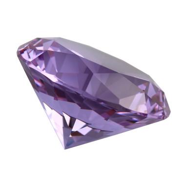 Glasdiamant lila B