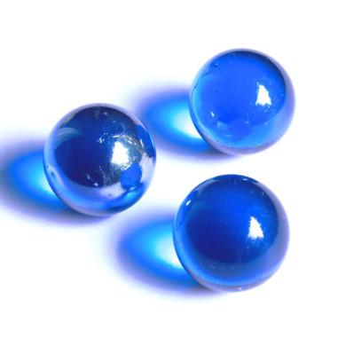 Glasmurmeln dunkelblau 25mm