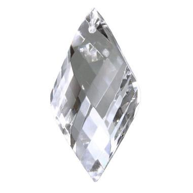 Facettierte Glaskristalle Glaskristall Mandel Spirale bleifrei A