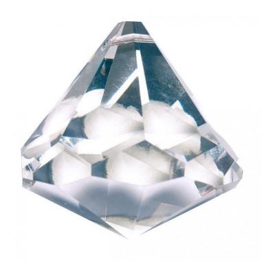 Facettierte Glaskristalle Glaskristall Prisma Kegel bleifrei