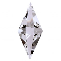Facettierte Glaskristalle Glaskristall Pendulum bleifrei A