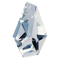 Facettierte Glaskristalle Glaskristall Prisma Asymetrisch