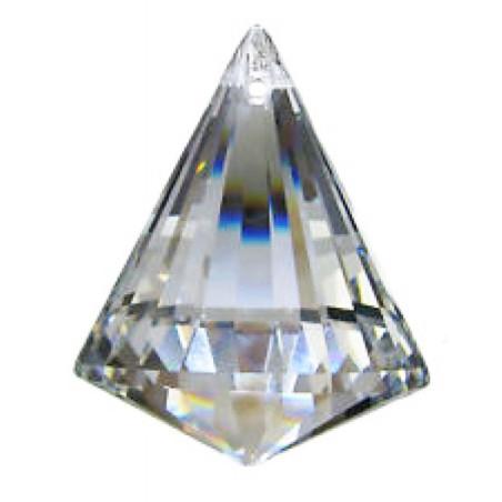 Facettierte Glaskristalle Glaskristall Prisma Kegel bleifrei A