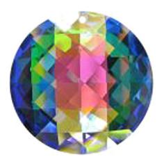 Facettierte Glaskristalle Glaskristall Rondellen Matrix AB