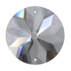 Facettierte Glaskristalle Rivoli-Sonne bleifrei A
