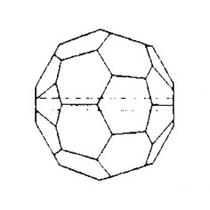 Facettierte Glaskristalle Perle 10 mm B