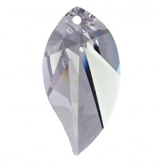 Facettierte Glaskristalle Swarovski Leaf 28 mm