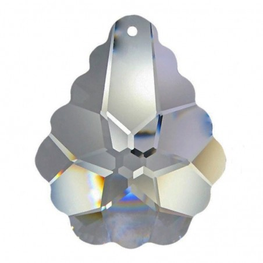 Facettierte Glaskristalle Swarovski Arabesque 50 mm
