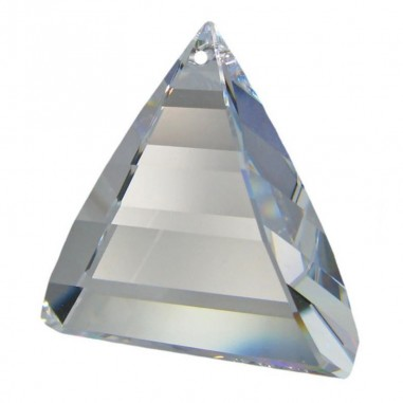 Facettierte Glaskristalle Swarovski Flame 35 mm x 35 mm