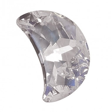 Facettierte Glaskristalle Swarovski Mond 30 mm