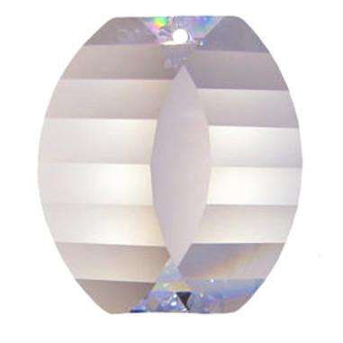 Facettierte Glaskristalle Swarovski View 38 x 34 mm