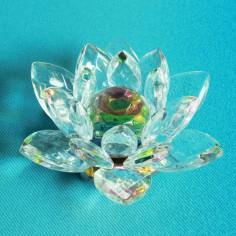 Glaskristall Lotus