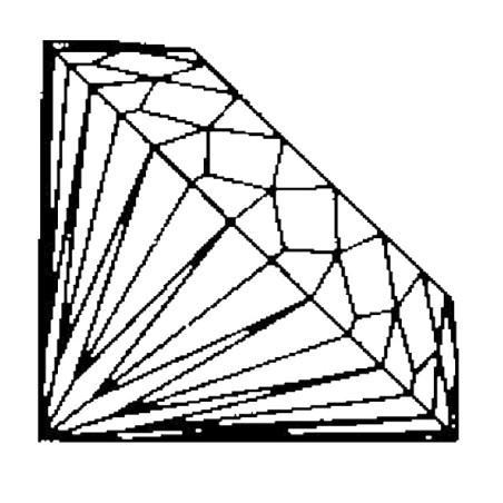 Kristallglasdiamant 112 Facetten A