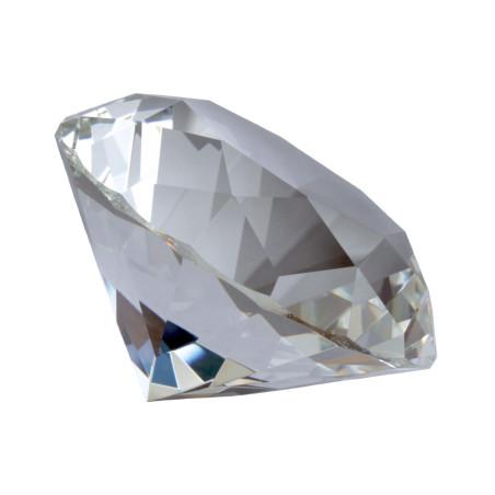 Kristallglasdiamant 56 Facetten klar A
