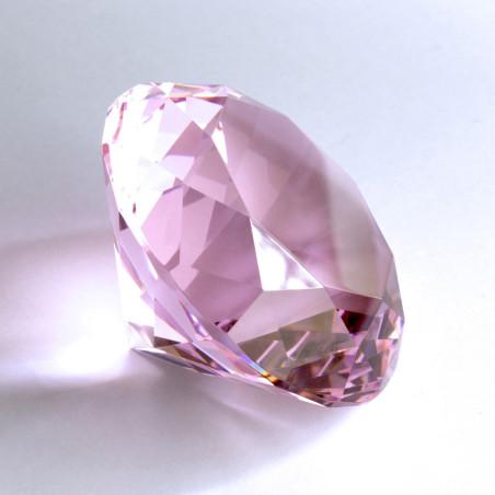 Kristallglasdiamant 56 Facetten rosaline A