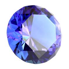 Kristallglasdiamant 56 Facetten sapphire A