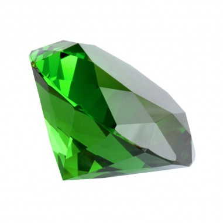 Kristallglasdiamant 56 Facetten smaragd A