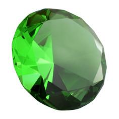 Glasdiamant grün B