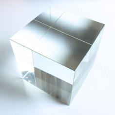 Kristallglaswürfel klar